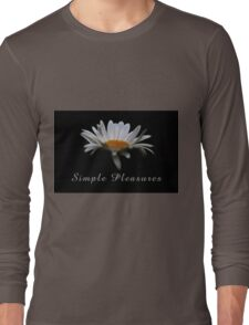 Simple pleasures. Long Sleeve T-Shirt