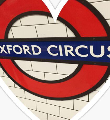 Oxford Circus Sticker