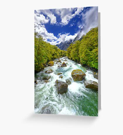 New Zealand Landscape 13 Greeting Card