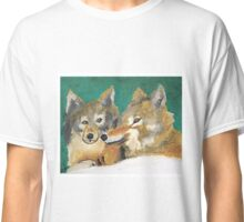 Mr. and Mrs. Wolf Classic T-Shirt