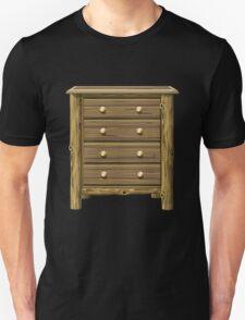 Glitch furniture smallcabinet log cabin cabinet T-Shirt
