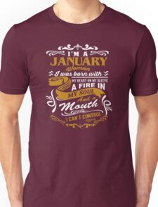 I'm A January Woman Unisex T-Shirt