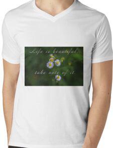 Life is beautiful Mens V-Neck T-Shirt