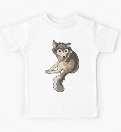 Nymeria Dire Wolf Cub Puppy Kids Tee