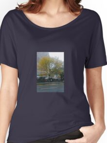 Autumn In New York Women's Relaxed Fit T-Shirt