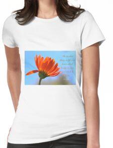 Bridge to burn Womens Fitted T-Shirt