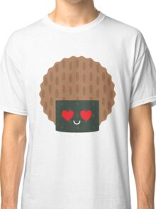 Seaweed Rice Cracker Heart and Love Eye Classic T-Shirt