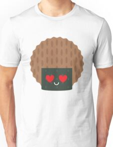 Seaweed Rice Cracker Heart and Love Eye Unisex T-Shirt