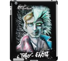 Punk Rock Two-Face iPad Case/Skin