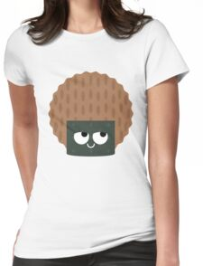 Seaweed Rice Cracker Think Hard and Hmm Womens Fitted T-Shirt