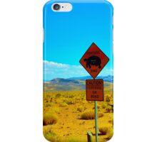 Caution! iPhone Case/Skin
