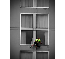 Window Cleaner Photographic Print