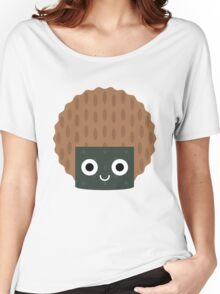Seaweed Rice Cracker Emoji Shock and Surprise Women's Relaxed Fit T-Shirt