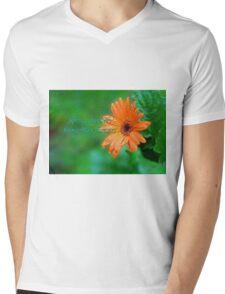 Spring showers Mens V-Neck T-Shirt