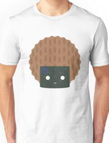Seaweed Rice Cracker Emoji Speechless with Sweat Unisex T-Shirt