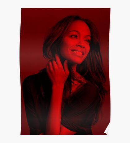 Zoe Saldana - Celebrity Poster