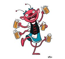 Marzen Beer Monster Photographic Print