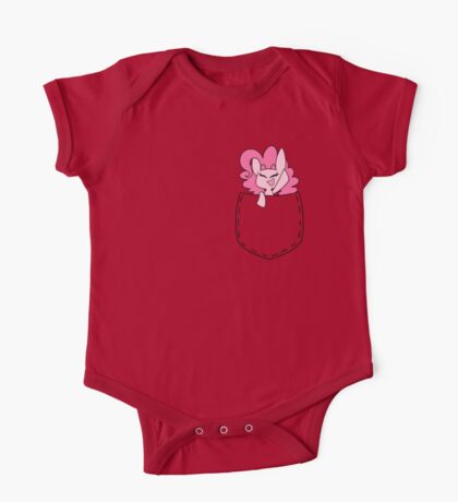Pinkie in a Pocket One Piece - Short Sleeve