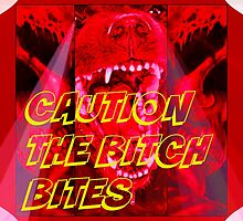 CAUTION MAD DOG by DMEIERS