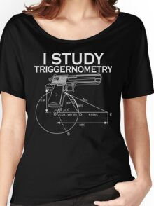 I Study Triggernometry T-Shirt Women's Relaxed Fit T-Shirt