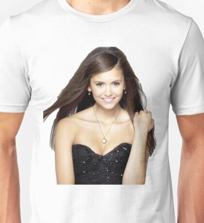 Beautiful Nina Dobrev Unisex T-Shirt