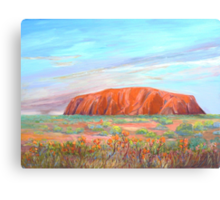 Uluru -Ayers Rock  Canvas Print