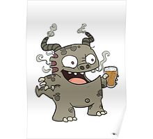 Rauch Beer Monster Poster