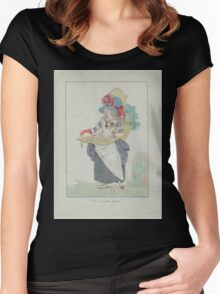Woman of Three Estates - French Revolution - 1789 Women's Fitted Scoop T-Shirt