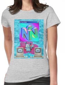 Hello Nintendo Womens Fitted T-Shirt
