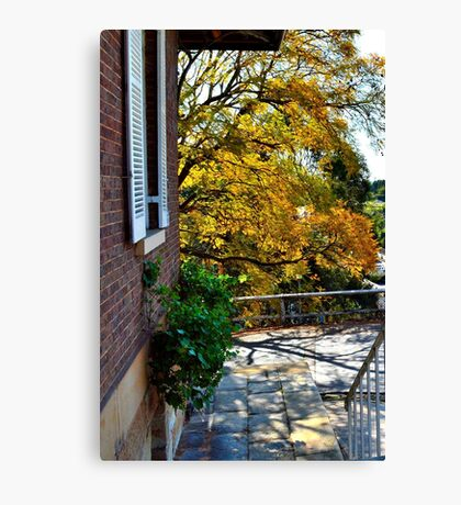 View to River Canvas Print