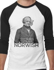 Martin Van Buren Norwish Shirt Men's Baseball ¾ T-Shirt