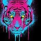 CMYK tiger by R-evolution GFX