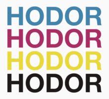 CMYK Hodor by Zero887