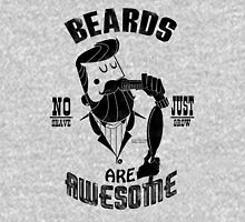 Beards are Awesome black Unisex T-Shirt