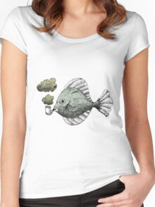 Fish Pipe Women's Fitted Scoop T-Shirt