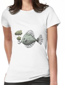 Fish Pipe Womens Fitted T-Shirt
