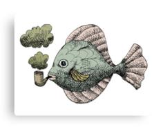 Fish Pipe Canvas Print