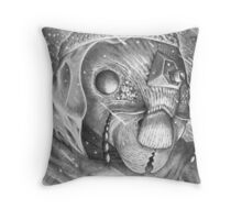 Storm Watchman Ganse Eyela Throw Pillow
