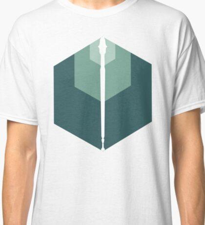 T-shirt Mage Staff Emblem Design Classic T-Shirt
