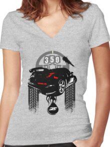 350Z BEASTIE T Shirt Women's Fitted V-Neck T-Shirt