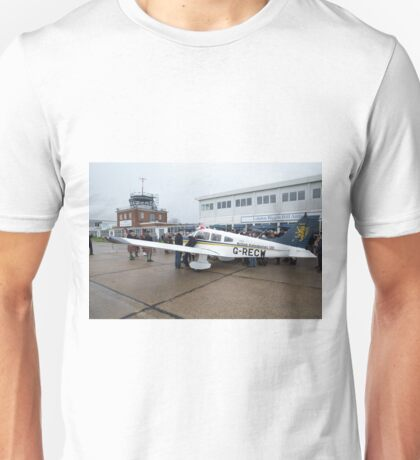 Piper Archer plane is named Julie - The spirit of British Caledonian at  London Biggin Hill Airport Unisex T-Shirt