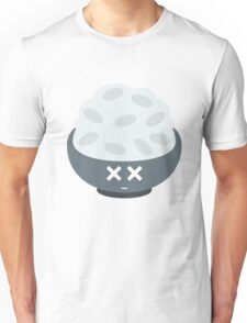 Rice Bowl Emoji Faint and Knock Out Unisex T-Shirt