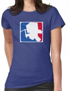 Major League Minecraft Womens Fitted T-Shirt