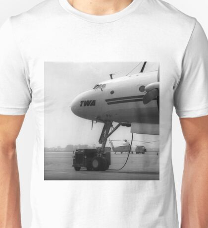 Lockheed L-1049G Super Connie Unisex T-Shirt