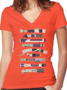 starwars Women's Fitted V-Neck T-Shirt