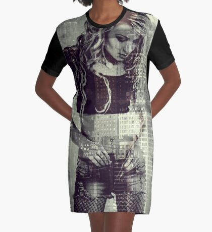 NEW YORK Graphic T-Shirt Dress