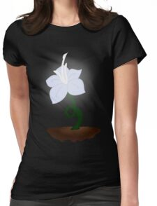 Light in The Dark Womens Fitted T-Shirt