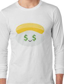 Egg Sushi Emoji Money Face Long Sleeve T-Shirt
