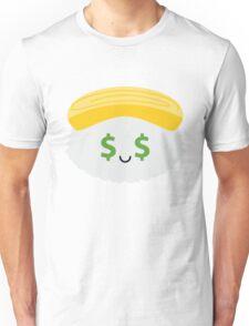 Egg Sushi Emoji Money Face Unisex T-Shirt