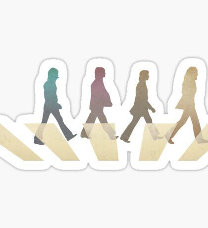 Under Abbey Road Sticker